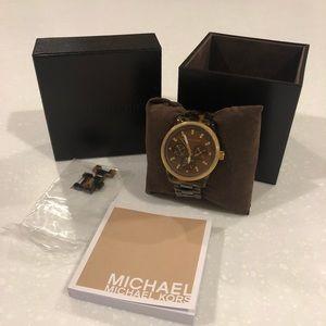Michael Kors Jetset Tortoise Shell Watch